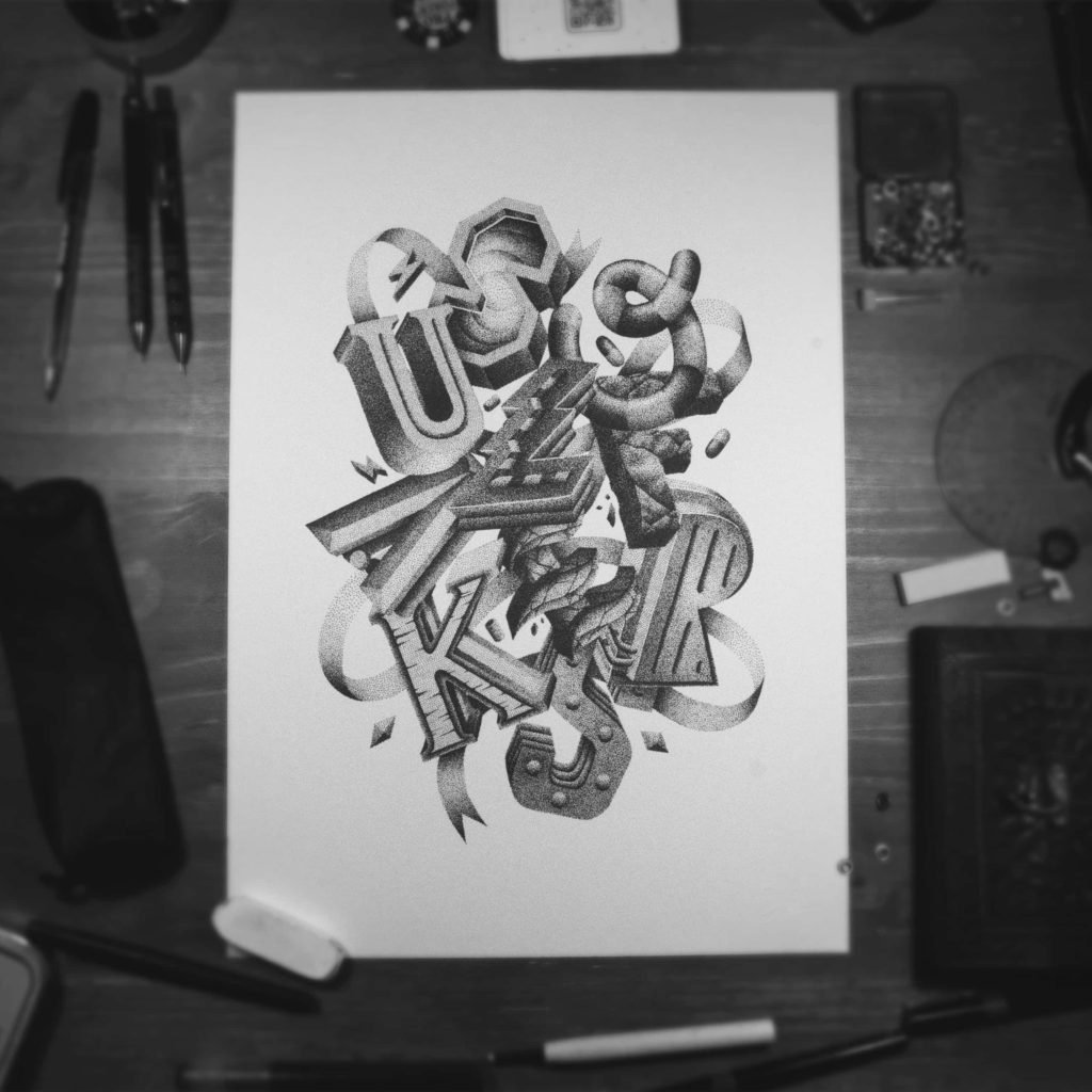 Dess hand lettering interview - Lettering Daily -min