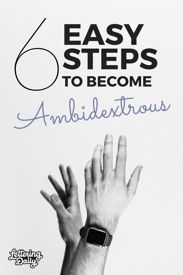 become ambidextrous