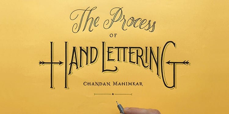 Hand lettering process - Lettering Daily