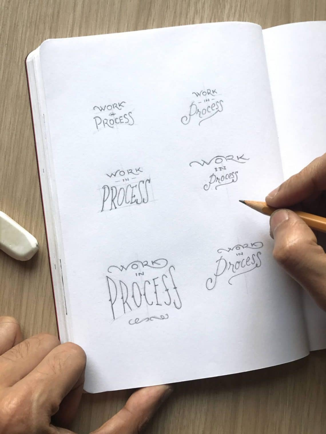 Creating hand lettering in 8 easy steps - Lettering Daily