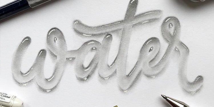 Cover hand lettering effects - lettering daily