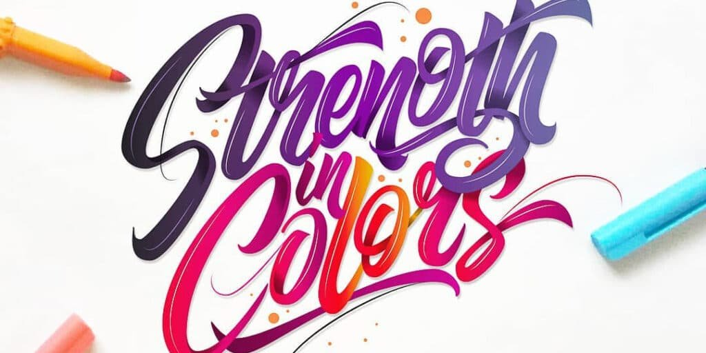 Cover image for color fundemental article. RK Sanchez - Lettering Daily