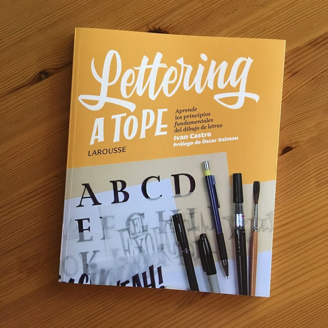 Ivan Castro, Hand Lettering Interview - Lettering Daily