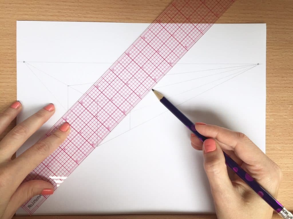 How To Draw Letters In Perspective - 2018 Lettering Daily