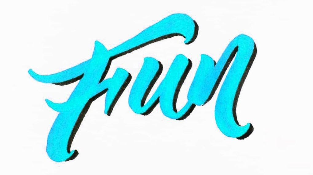 How To Shade Your Lettering (5 AWESOME Ways - 2018)