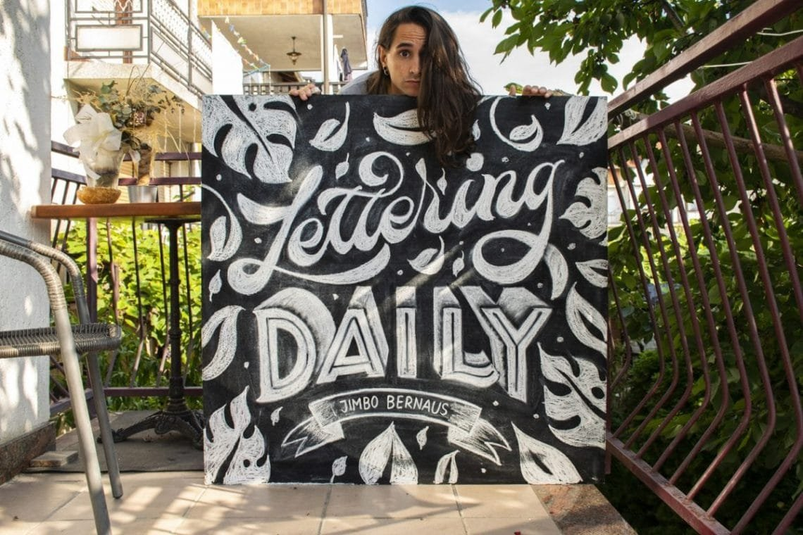How To Do Chalk Lettering (7 EASY steps - 2018) - Lettering Daily
