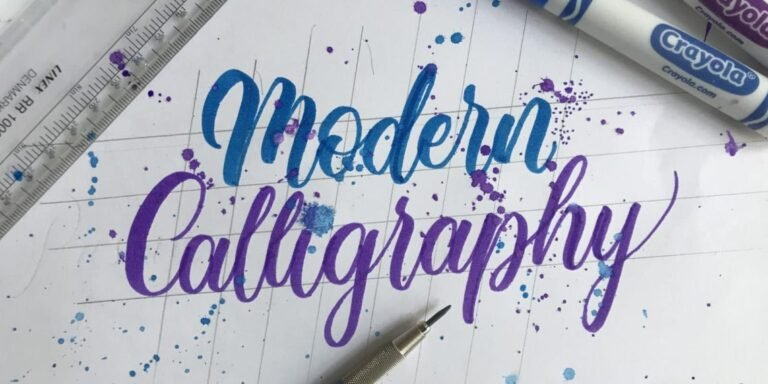 HOW TO DO MODERN CALLIGRAPHY – 3 POPULAR STYLES