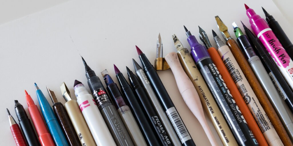 The Best Calligraphy Pens For Beginners - Lettering Daily