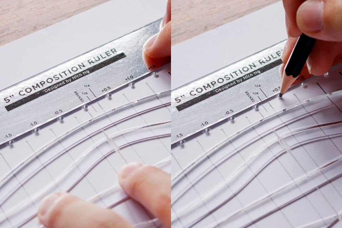 This tool will help you improve your lettering composition - Lettering Daily