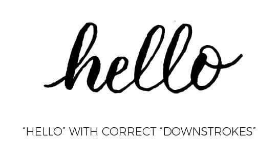 5 Modern calligraphy tips i wish i knew when i started - Lettering Daily