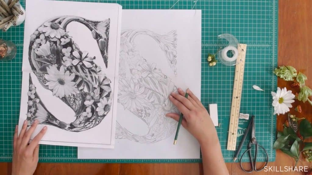 Lettering and calligraphy classes