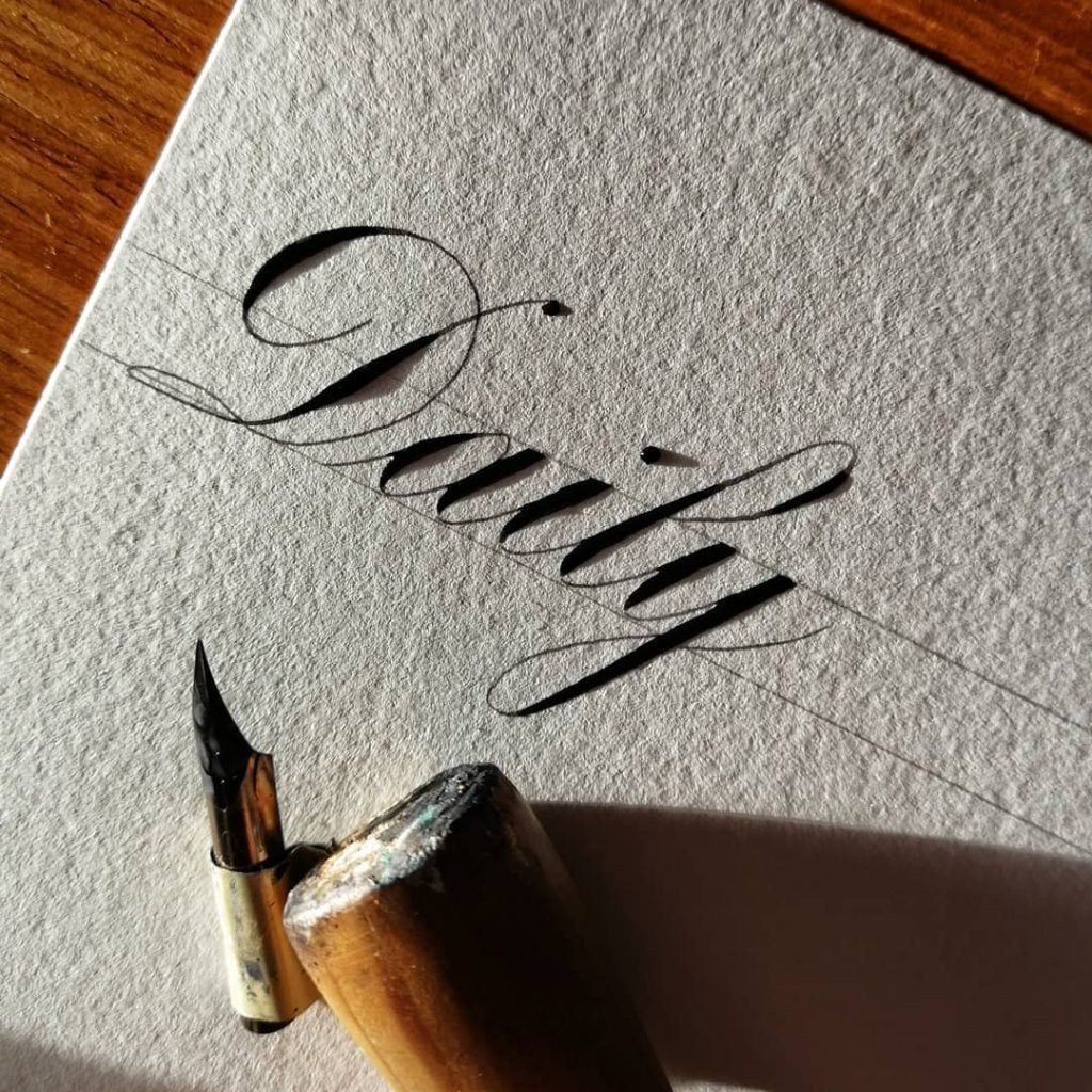 Left-Handed Calligraphy - A Chat With Bad Calligraphy