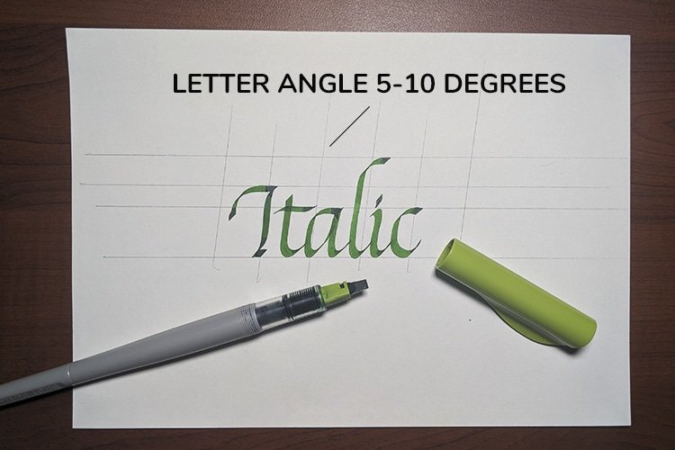 Italic Calligraphy For Beginners - Lettering Daily