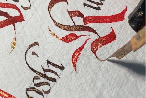 How To Make Calligraphy Wedding Invitations - Lettering Daily