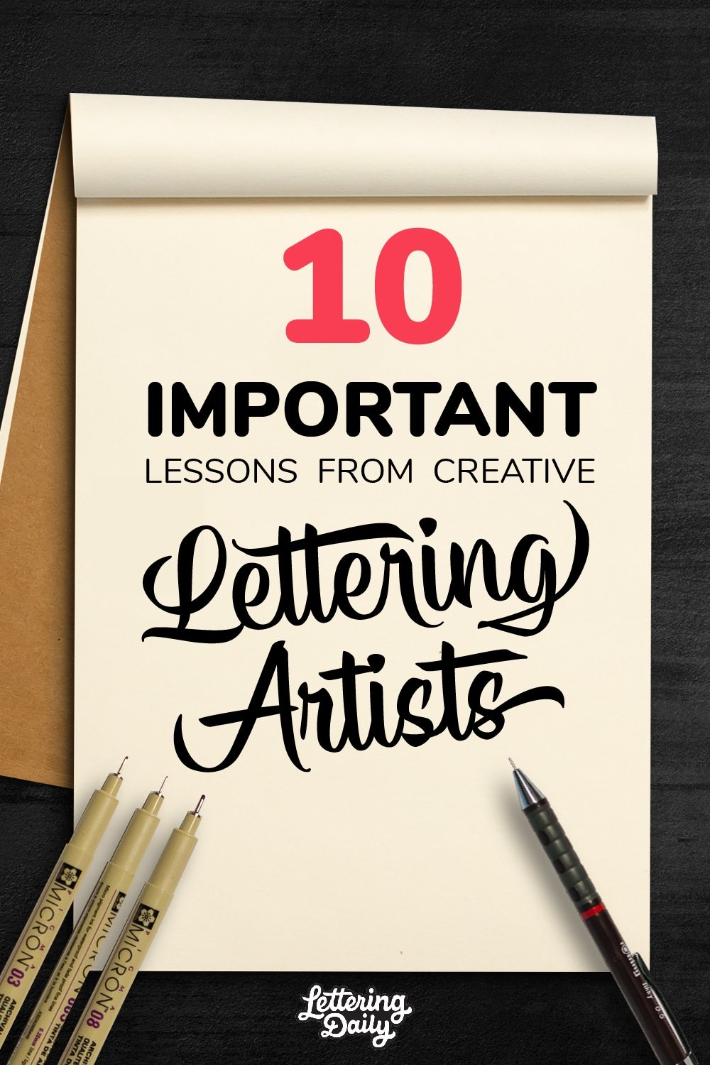 10 Important lessons from creative lettering artists - Lettering Daily-01