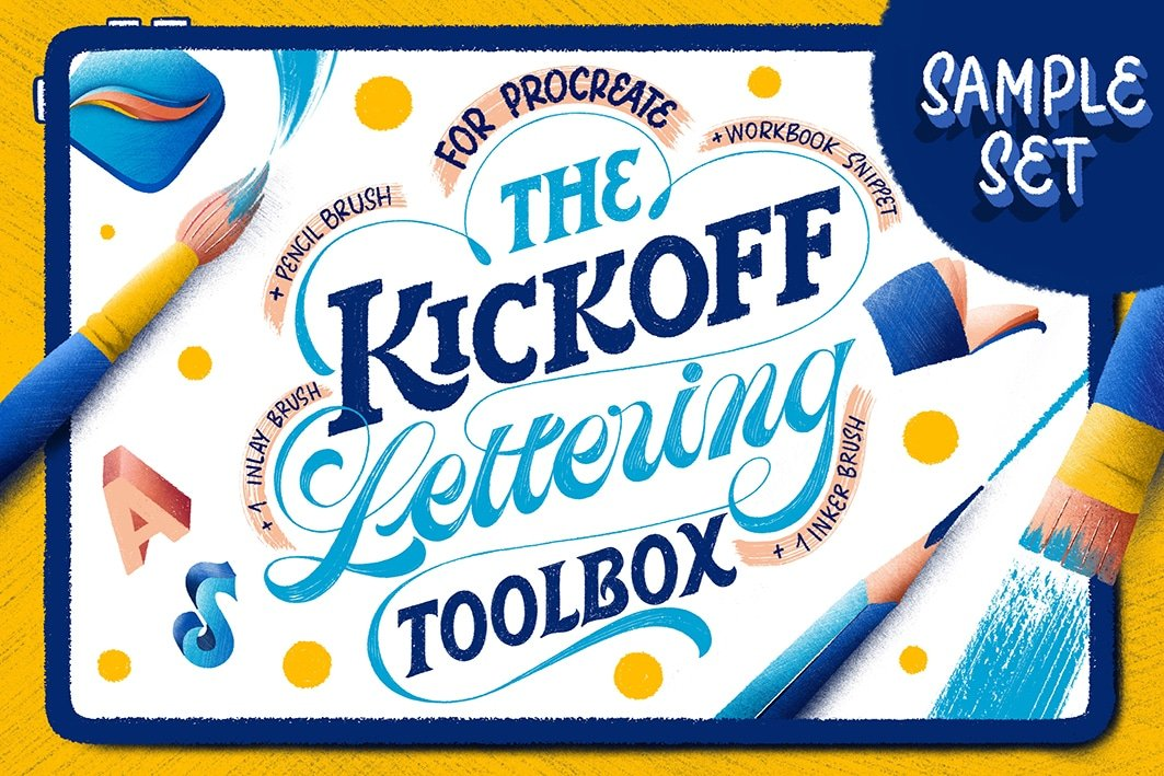 The KickOff Lettering Toolbox review - Lettering Daily