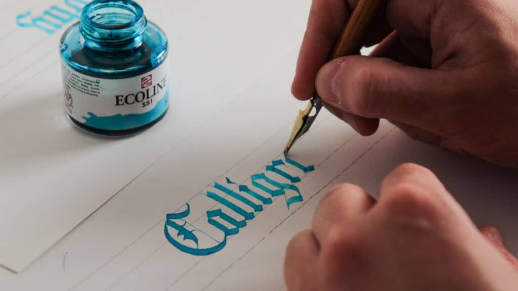 Calligraphy mistakes
