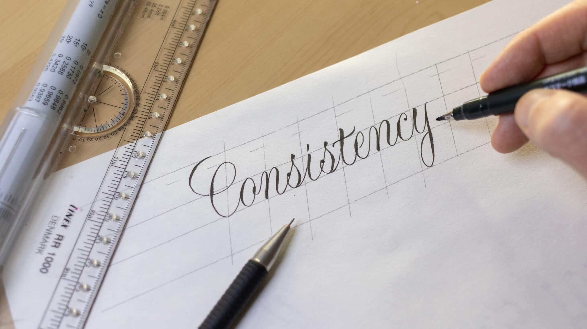 How To Make Calligraphy Guidelines Image 18 - Lettering Daily