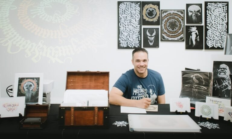 BLACKLETTER CALLIGRAPHY WITH A TWIST – A CHAT WITH TAMER GHONEIM